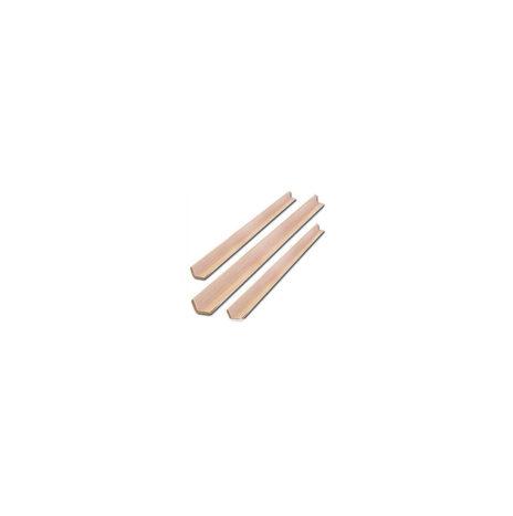 Уголок декоративный из липы  (от 1,0-3,0 м)