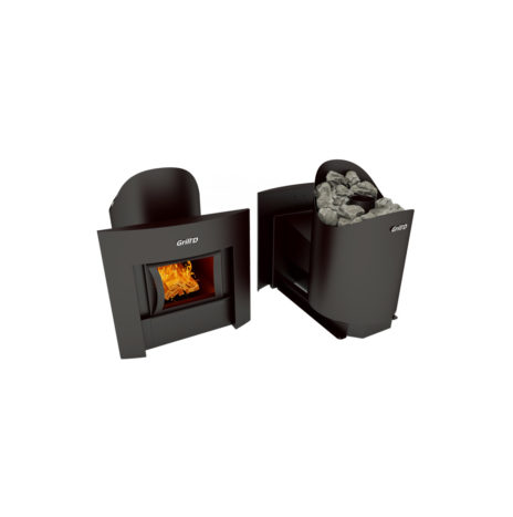 Дровяная печь Grill'D Aurora 160  window black