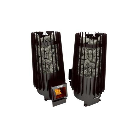 Дровяная печь Grill'D Cometa Vega 180 long black