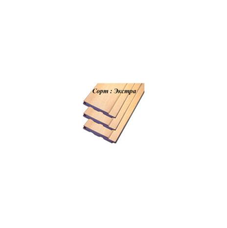 Вагонка липа 15х96 сорт Экстра (от 1,8 до 3,0 м)