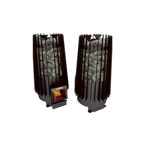 Дровяная печь Grill'D Cometa Vega 180 window black