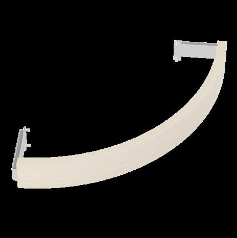 Деревянное ограждение SAWO TH-GUARD-W6-CNR-A для печи угловой установки TOWER TH6 (осина)
