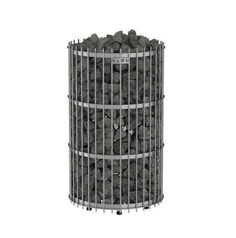 Электрическая печь SAWO Orion ORN-90NS-G-P (9 кВт, выносной пульт, нержавейка, напольная)
