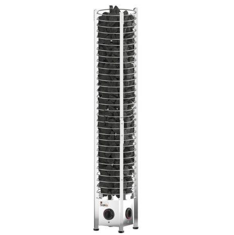 Электрическая печь SAWO TOWER TH3-60NB-P (6 кВт, встроенный пульт, нержавейка)